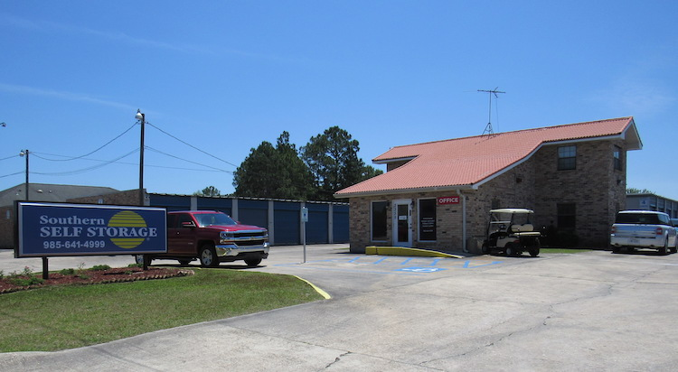 Entrance - Southern Self Storage - Slidell, Louisiana